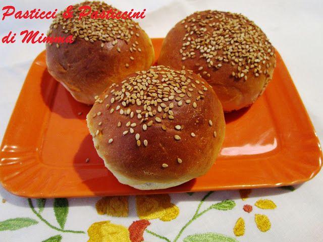 Panini da hamburger soffici e buonissimi con la FARINA DI GRANO TENERO TIPO 1 RUGGERI