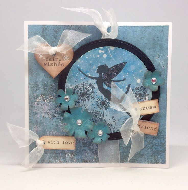 Card created using Fairyland Collection, made by Julie Hickey www.craftworkcards.com