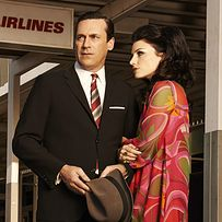 """""""Mad Men"""" Creator Matthew Weiner On The Show's Jet-Setting Final Season.  Some nice costume reveals as well."""