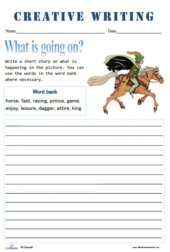 5th Grade Writing Worksheets
