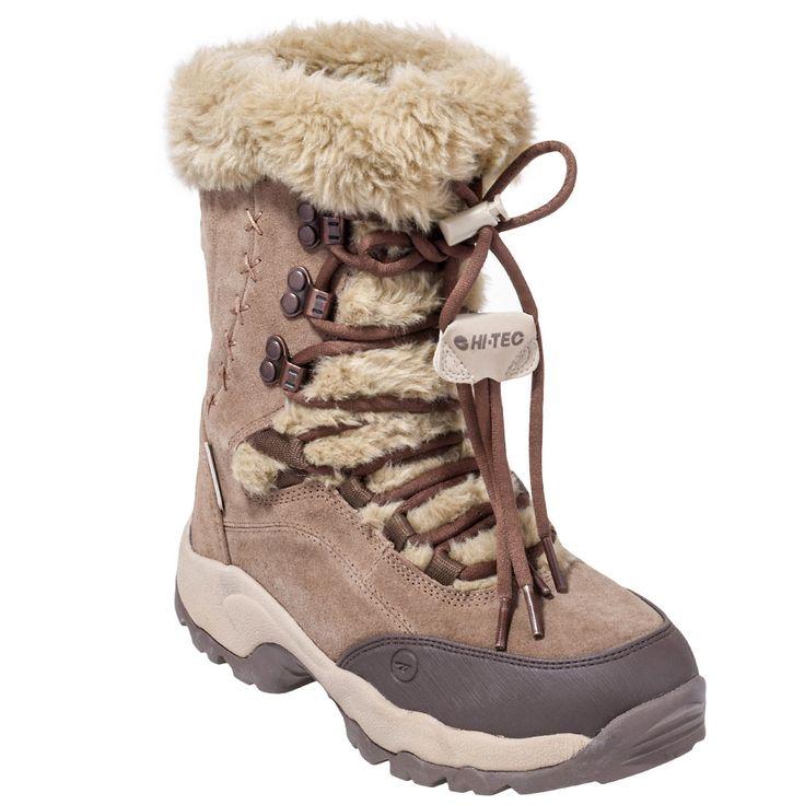 Hi-Tec Boots 47093 Womens Waterproof Insulated St Moritz Boots