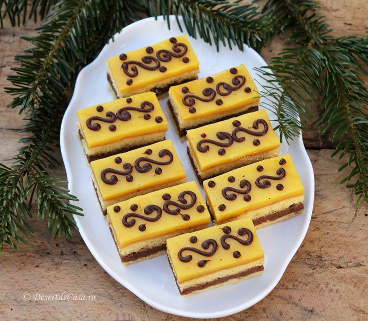 Prajitura cu ciocolata si portocala -DesertdeCasa.ro- Maria Popa