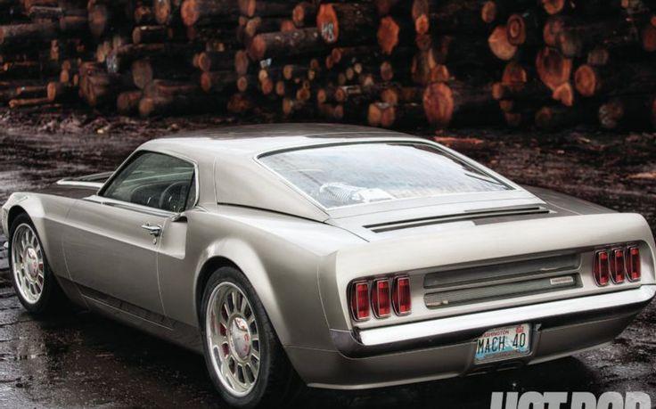 Mach 40 = 1969 Mustang Mach 1 + Ford GT40