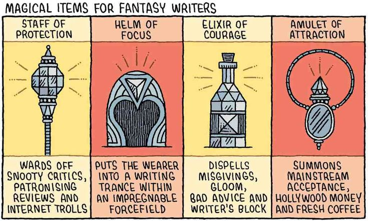 Magical Items For Fantasy Writers