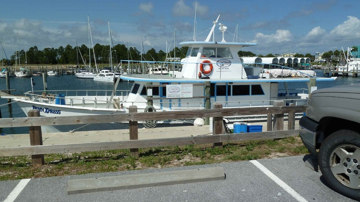 Cape san blas vacation rental fish 39 n express boat in port for Cape san blas fishing