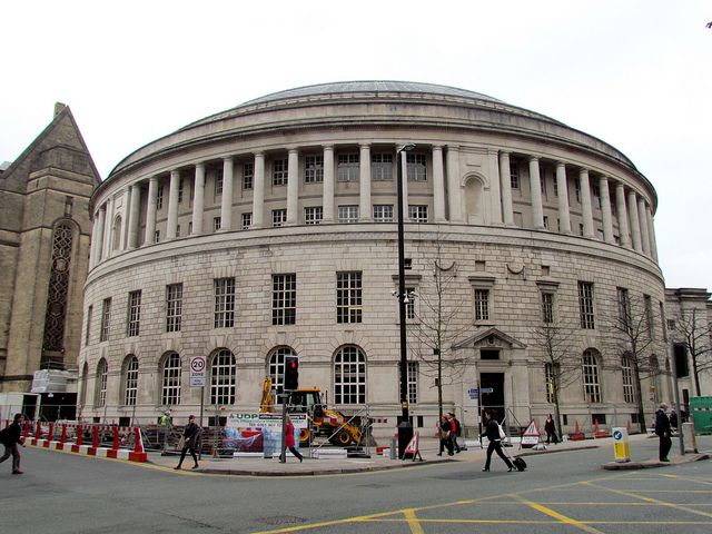 Manchester Central Library, Manchester, England, 2011.