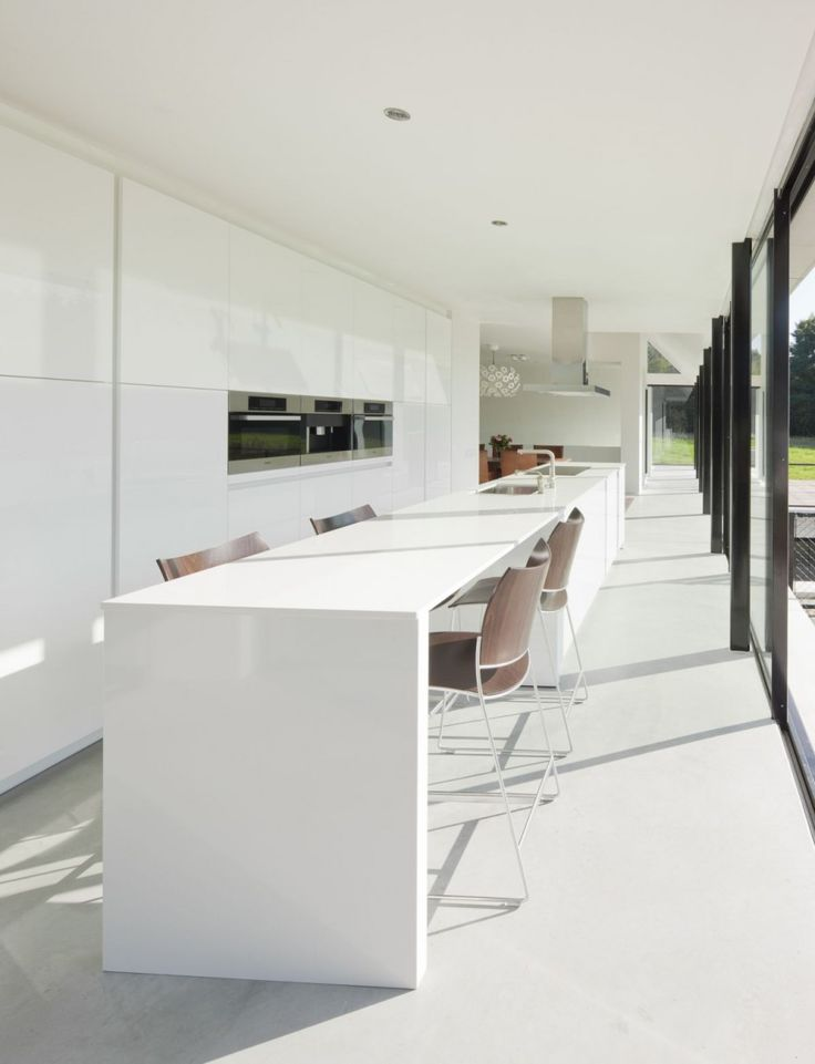 Hofman Dujardin #Architects have designed the Villa Geldrop in The Netherlands.