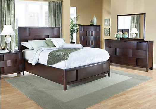 shop for a lynwood 5 pc queen bedroom at rooms to go find