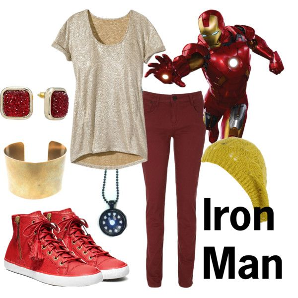 Love it. Really like the hat! Maybe different earrings though... And a different color scheme 'cause I don't much care for Iron Man, though same yellow for the hat. Really love the hat.