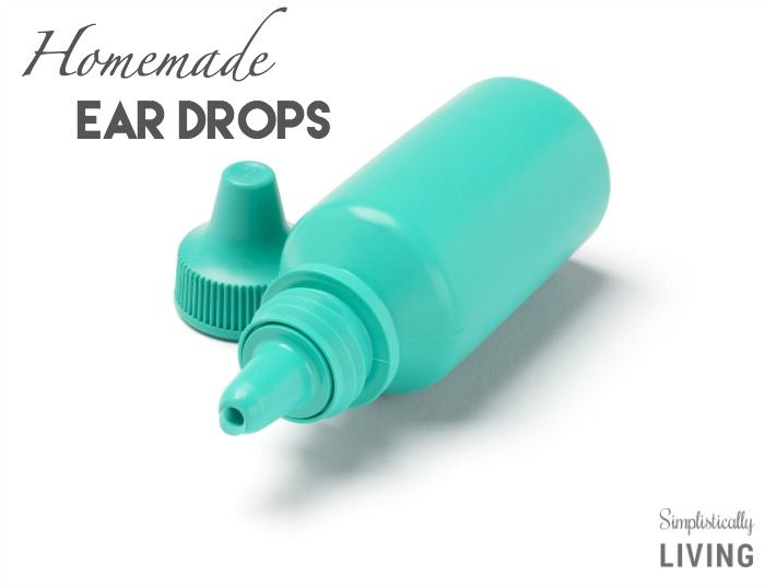 Save time and money with these Homemade Ear Drops! A natural way to cure those sore ears!