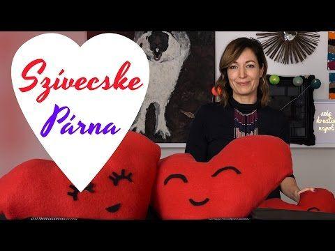 Valentin napi DIY ötlet: Szívecske Párna (varrásmentes!!!) - INSPIRACIOK.HU | Csorba Anita - YouTube