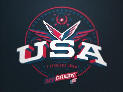 My Origin - USA  by Fraser Davidson