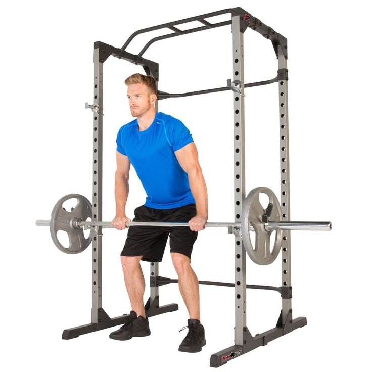 Fitness Reality 810xlt Super Max Power Cage With The 800 Lb Capacity Super Max 1000 Weight Bench Combo More Details Could In 2020 Home Gym Squat Rack Weight Benches