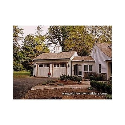 68 best detached garage images on pinterest driveway for House plans with breezeway to guest house