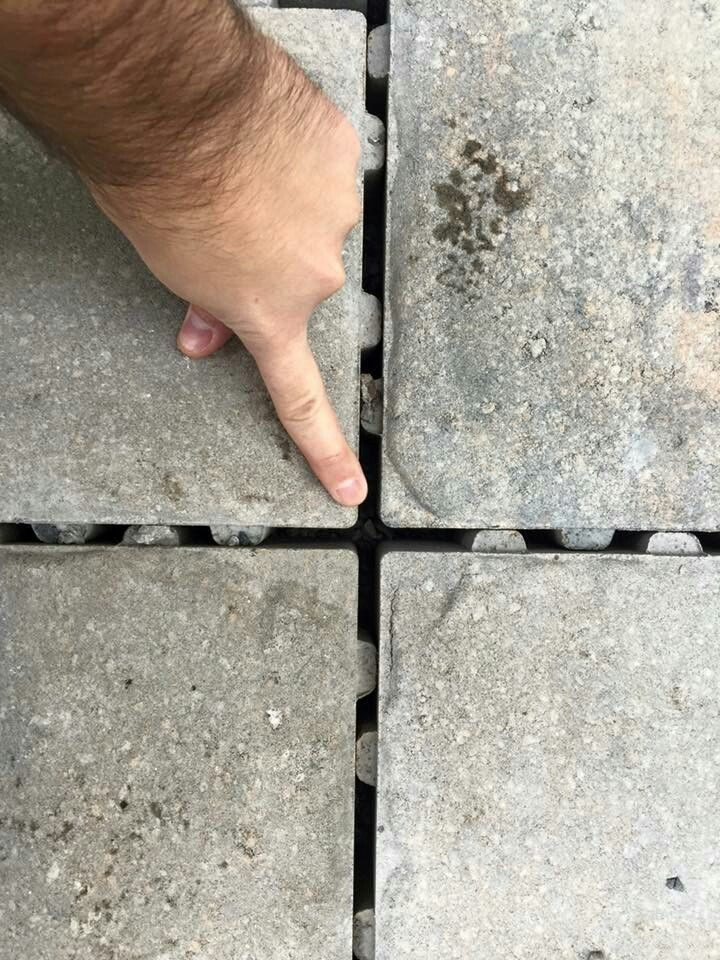 This permeable driveway helps one of our clients with storm water management. Click to see more options that could benefit you and your home. | #Gardenalia
