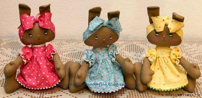 тряпичные куклы ручной работы (8) (700x338, 218Kb)