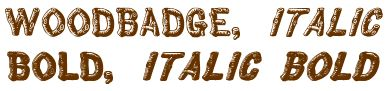 Woodbadge Machine Embroidery Designs