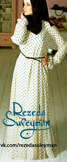 Rezeda Suleyman Dress | #Hijab