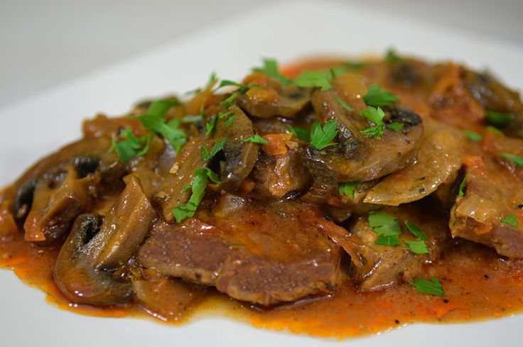 A lightened up Swiss Steak is a perfect recipe for when you're feeling indulgent.