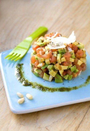 Tartare tomate avocat : recette de tartare à la tomate et à l'avocat