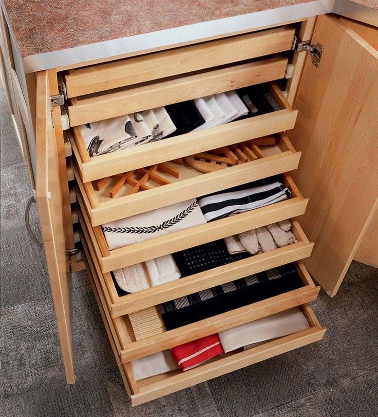 Browse KraftMaid Kitchen Storage Solutions