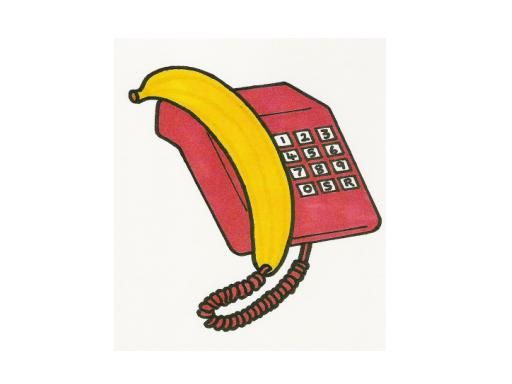 Plátano como auricular
