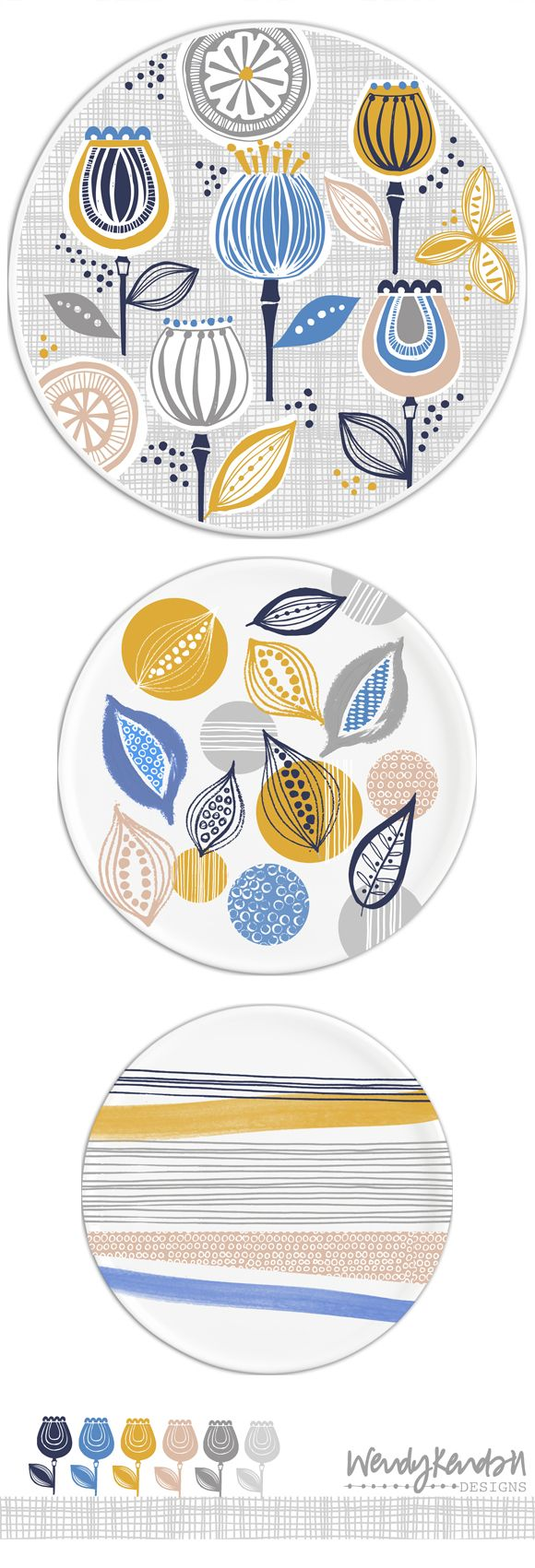 wendy kendall designs – freelance surface pattern designer » flowerpod