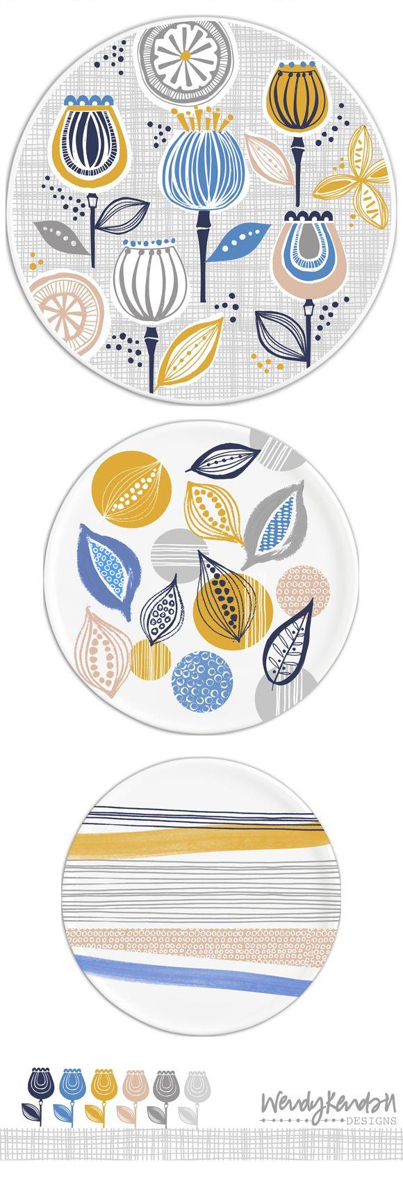 wendy kendall designs – freelance surface pattern designer » flowerpod