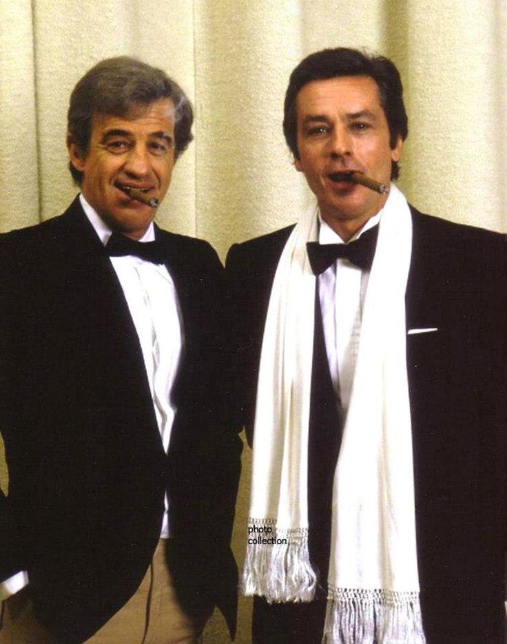 Jean Paul Belmondo e Alain Delon
