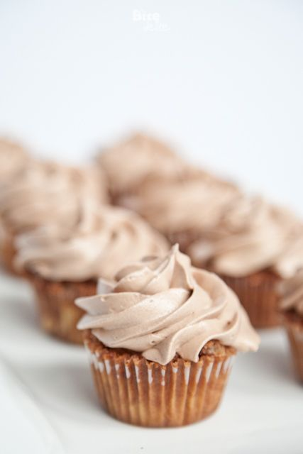 Nutella Cupcakes With Nutella & Cream Cheese Frosting Recipes ...