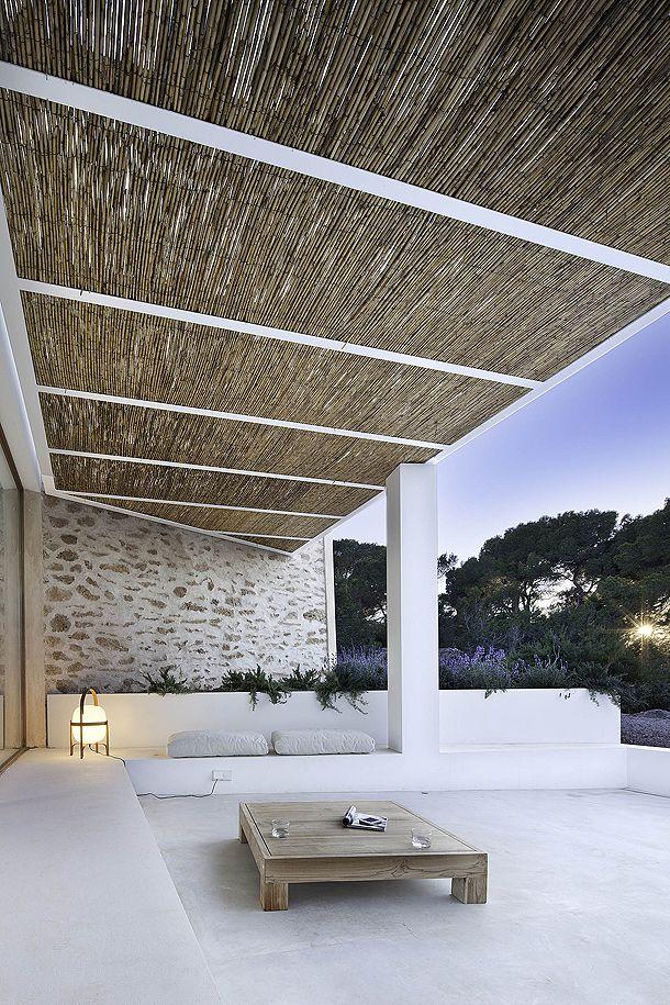 Terraza, Can Manuel d'en Corda. Daniel Redolat + Marià Castelló, Formentera