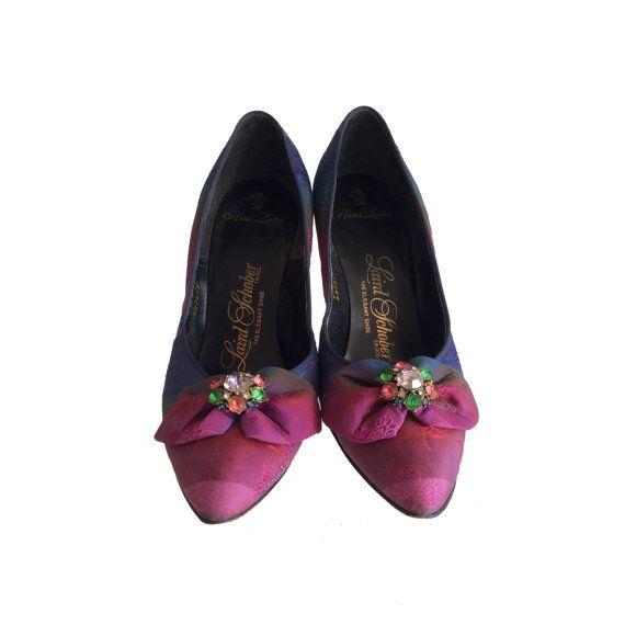 Vintage Stilettos Womens Size 5  1940s Shoes by DorothyZudora