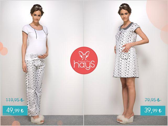 Anne adayları için özel tasarlanan lohusa takımları Haysshop 'ta. #pijama   #gecelik   #hamile   #lohusa    Pijama >> https://goo.gl/GaqLud Gecelik >> https://goo.gl/wzyNpd