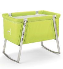 Baby Home Dream Cot voted Top 10 Portable Cribs by the Bump