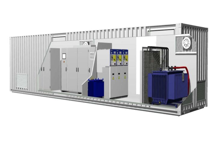 Containerized Substation for Photovoltaic Plants Miami. Containerized Substation…