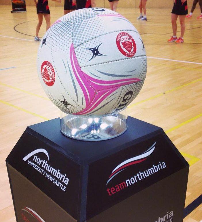 Gilbert Official Netball Super League Match Ball