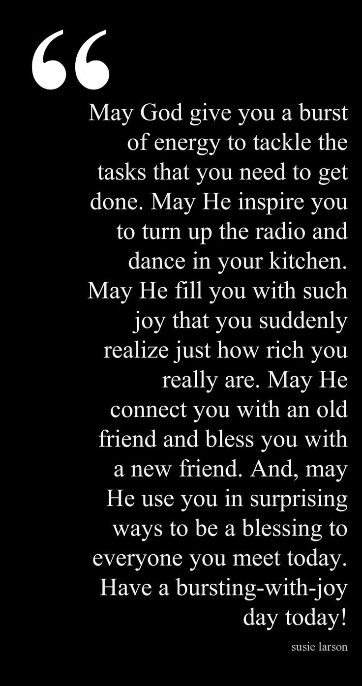 A great way to start off the day Start A Day Blessing by Susie