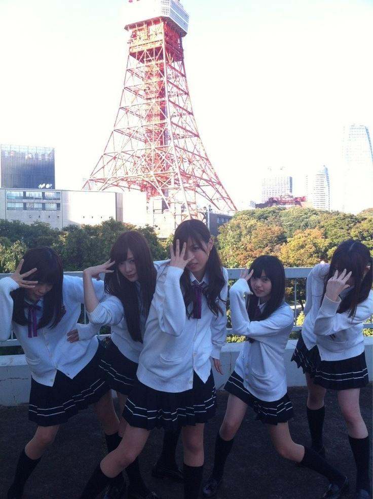 乃木坂46 (nogizaka46) Fukagawa Mai (深川麻衣) Shiraishi Mai (白石麻衣) Nishino Nanase (西野七瀬) Saito Asuka (齋藤飛鳥) Matsumura Sayuri (松村沙友理) as power rangers!~!! ♥ ♥