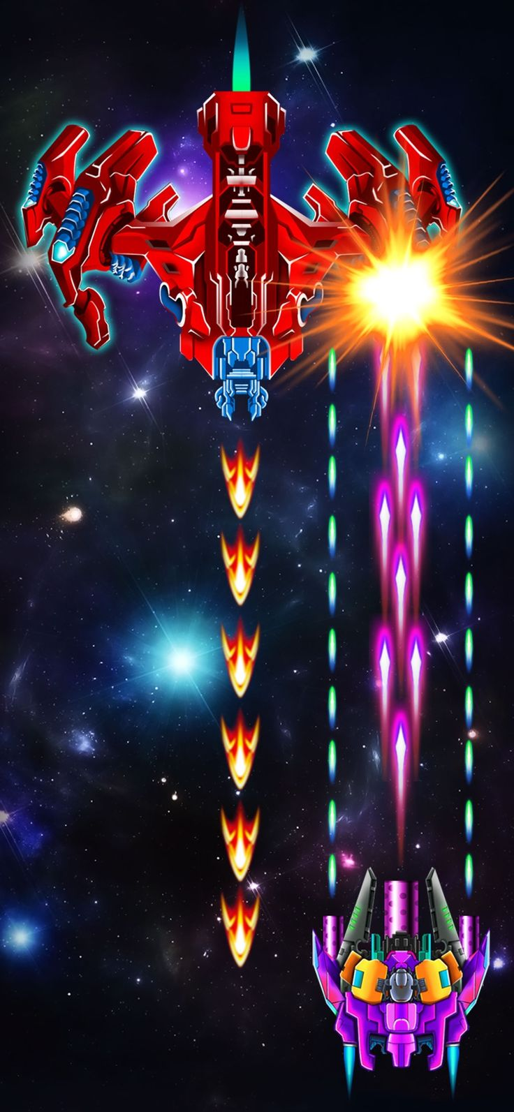 Galaxy Attack Alien Shooter on the App Store Alien
