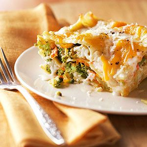 Budget Broccoli Lasagna From Better Homes and Gardens, ideas and improvement projects for your home and garden plus recipes and entertaining ideas.