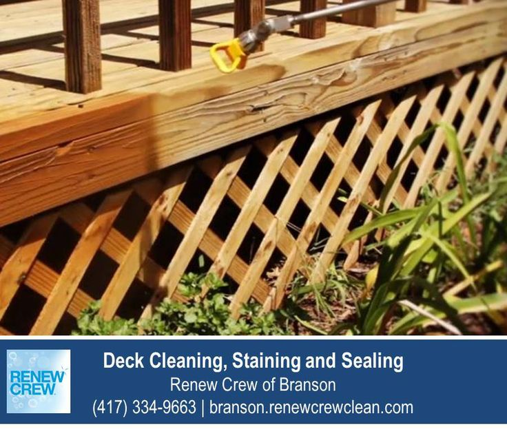 http://branson.renewcrewclean.com/ – Spraying on the deck stain and sealant after a complete cleaning ensures even application and consistent color. It also allows the sealant to reach awkward corners and crevices. All Renew Crew of Branson products are safe for your plants, kids and pets. We serve Branson and surrounding areas. Free estimates.