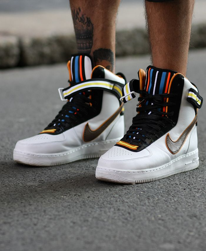 online store c4a9b 3e008 NIKE AIR FORCE 1 HIGH SP (TISCI) via Hypebeast   SHOES FOR MEN in 2019   Nike  shoes, Sneakers nike, Nike shoes outlet