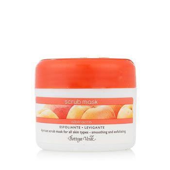 Scrub mask Albicocca (50 ml) - per tutti i tipi di pelle - esfoliante levigante