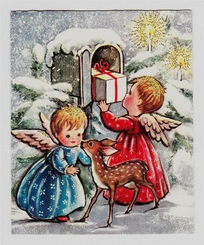 angels and deer