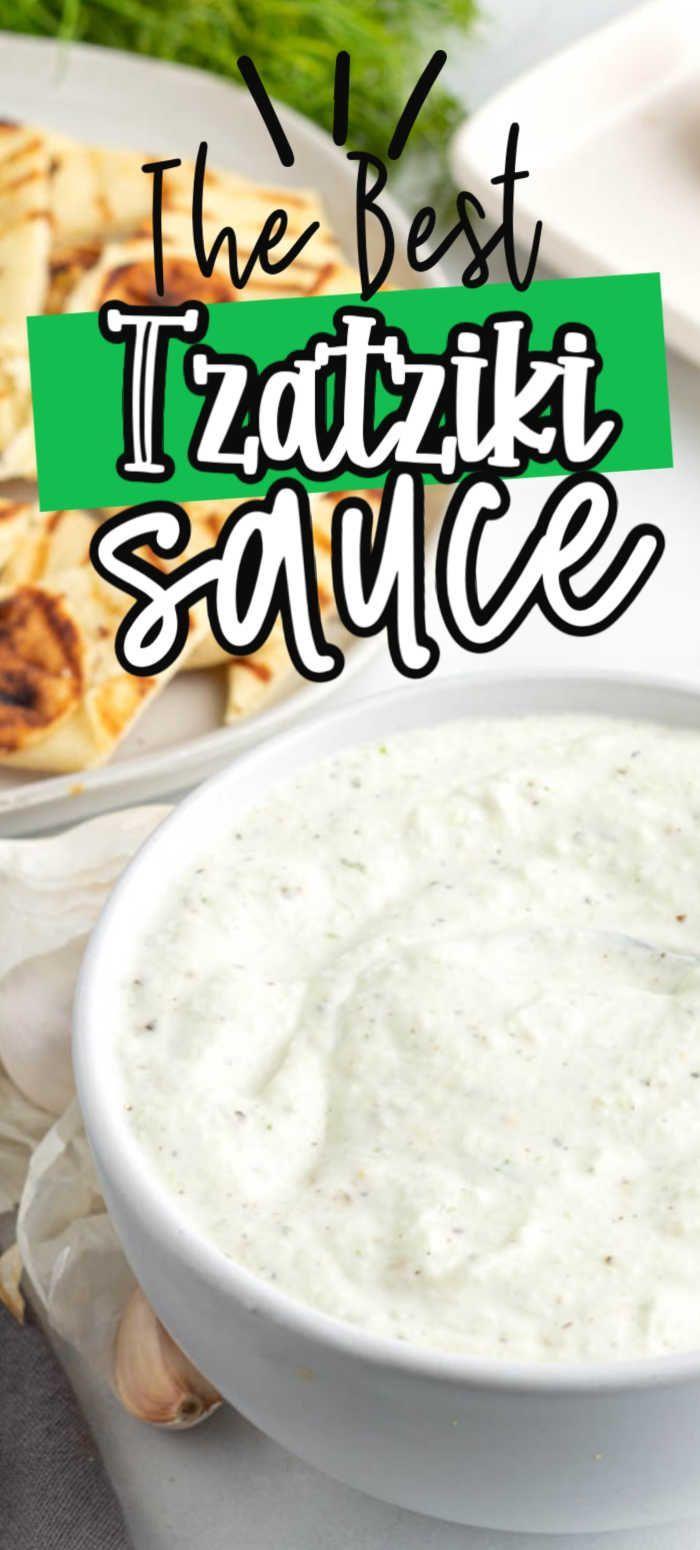 Tzatziki Sauce Recipe Cucumber Yogurt Sauce In 2020 Tzatziki Sauce Recipe Tzatziki Sauce Tzatziki Sauce Recipe Easy