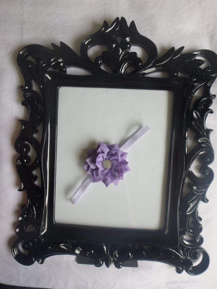 A personal favorite from my Etsy shop https://www.etsy.com/listing/228696386/lavender-poinsettia-headband