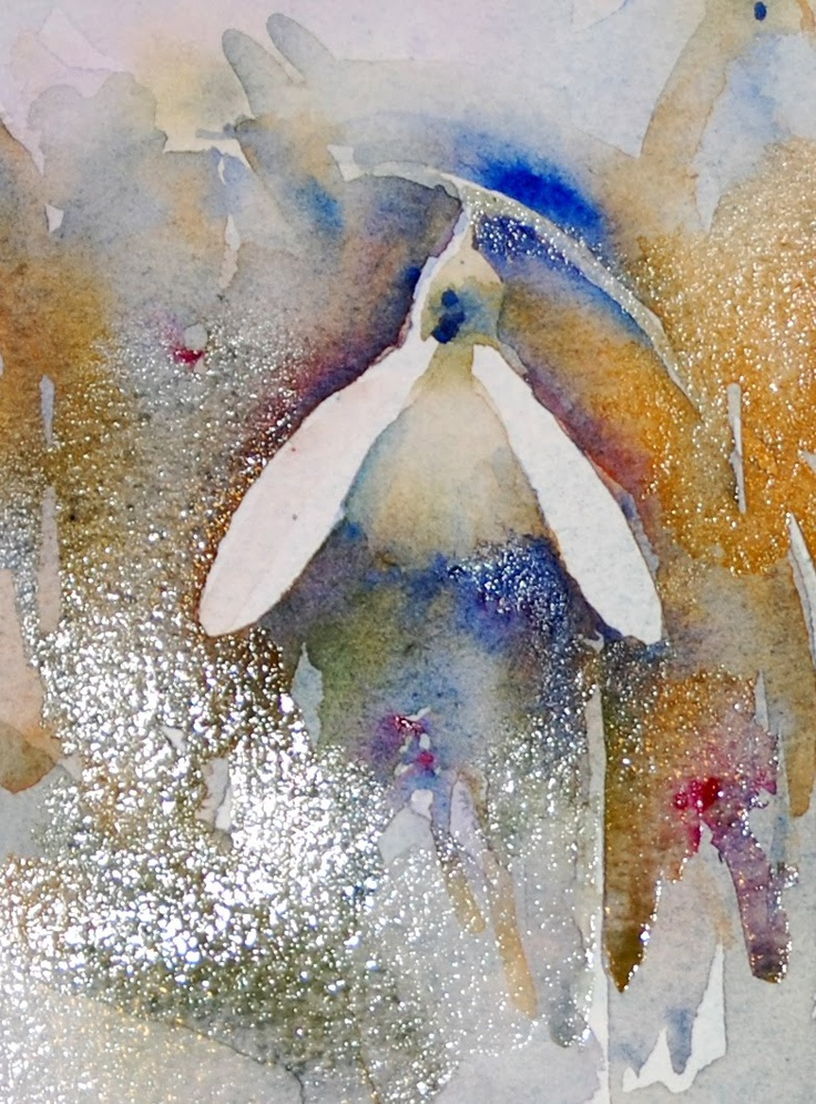 Jean haines watercolours with life life a work in for How to paint a portrait in watercolor