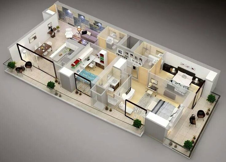 fifty 3 bedroom apartmenthouse plans home designing timeline photos - 6 Bedroom House Plans 3d