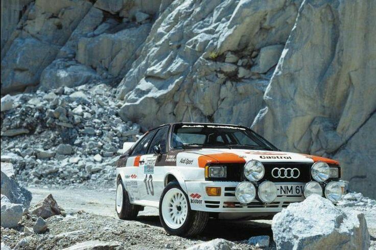 "doyoulikevintage: ""Audi quattro """