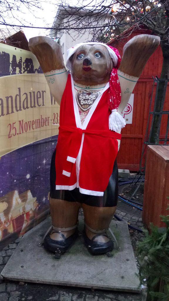 Berlin-Spandau ,Weihnachtsmarkt 2017